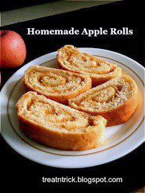Homestead Blog Hop Feature - homemade apple rolls