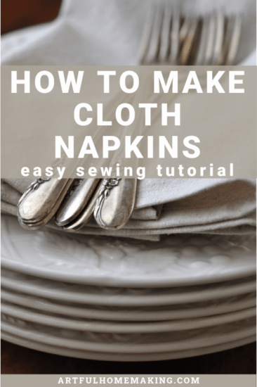 Homestead log Hop Feature - how-to-make-cloth-napkins
