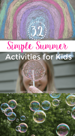 Homestead Blog Hop Feature - simple-summer-activities-for-kids