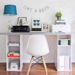 Awesome Ikea Hacks For A Productive Home Office Simple Life Of A Lady