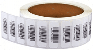 High quality, coated barcode labels used for library software Simple Little Library System