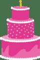 Super Duper package cake