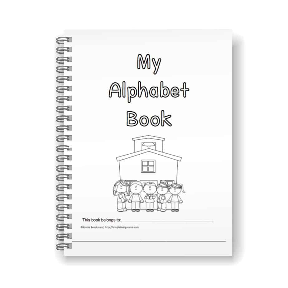Preschool Alphabet Book