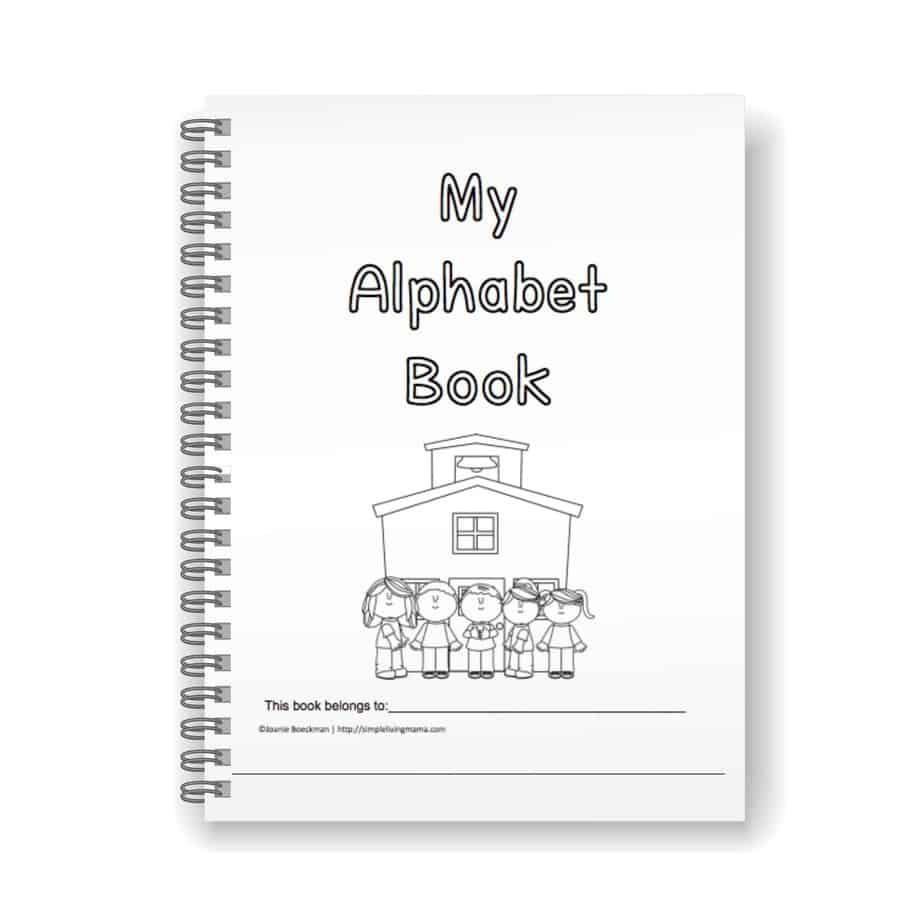 Preschool Alphabet Book