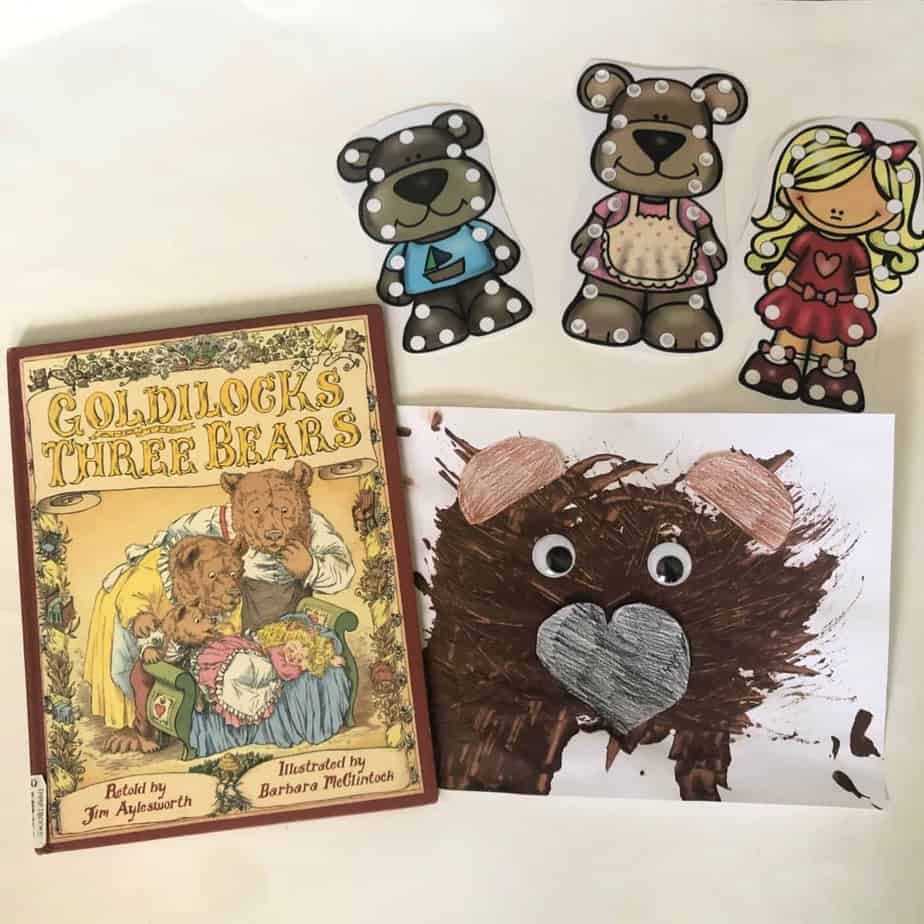 Goldilocks And The Three Bears Preschool Lesson Plans And