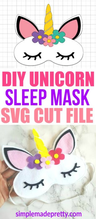 Download No Sew Felt Unicorn Sleep Mask (2019)