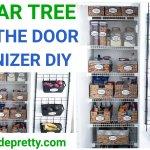Over The Door Organizer Dollar Tree Diy Simple Made Pretty 2021