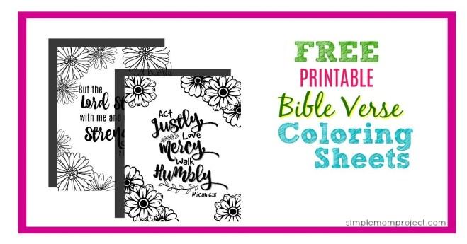 Free Bible Verse Printable