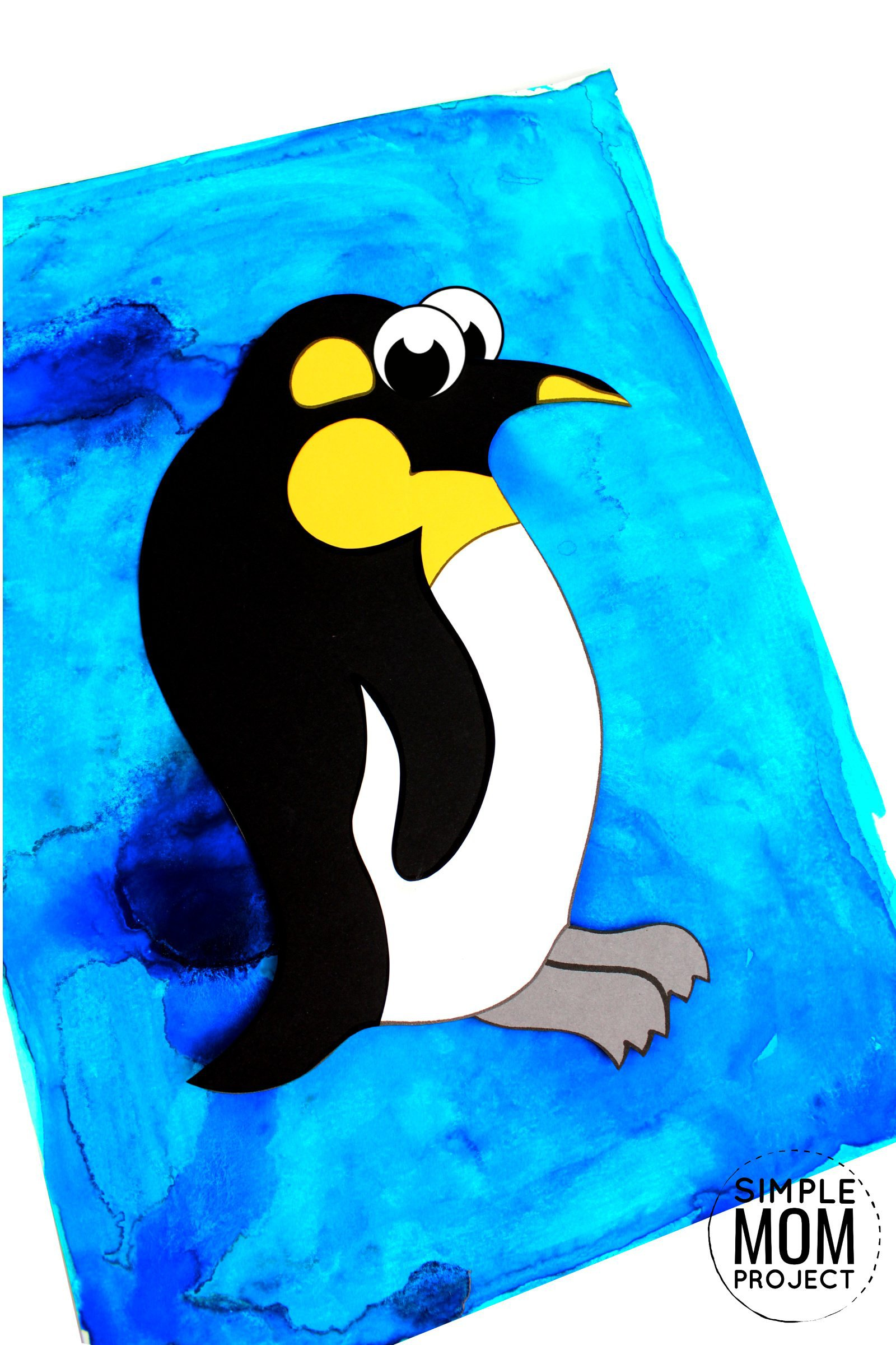 Easy Arctic Penguin Craft For Kids With Free Template