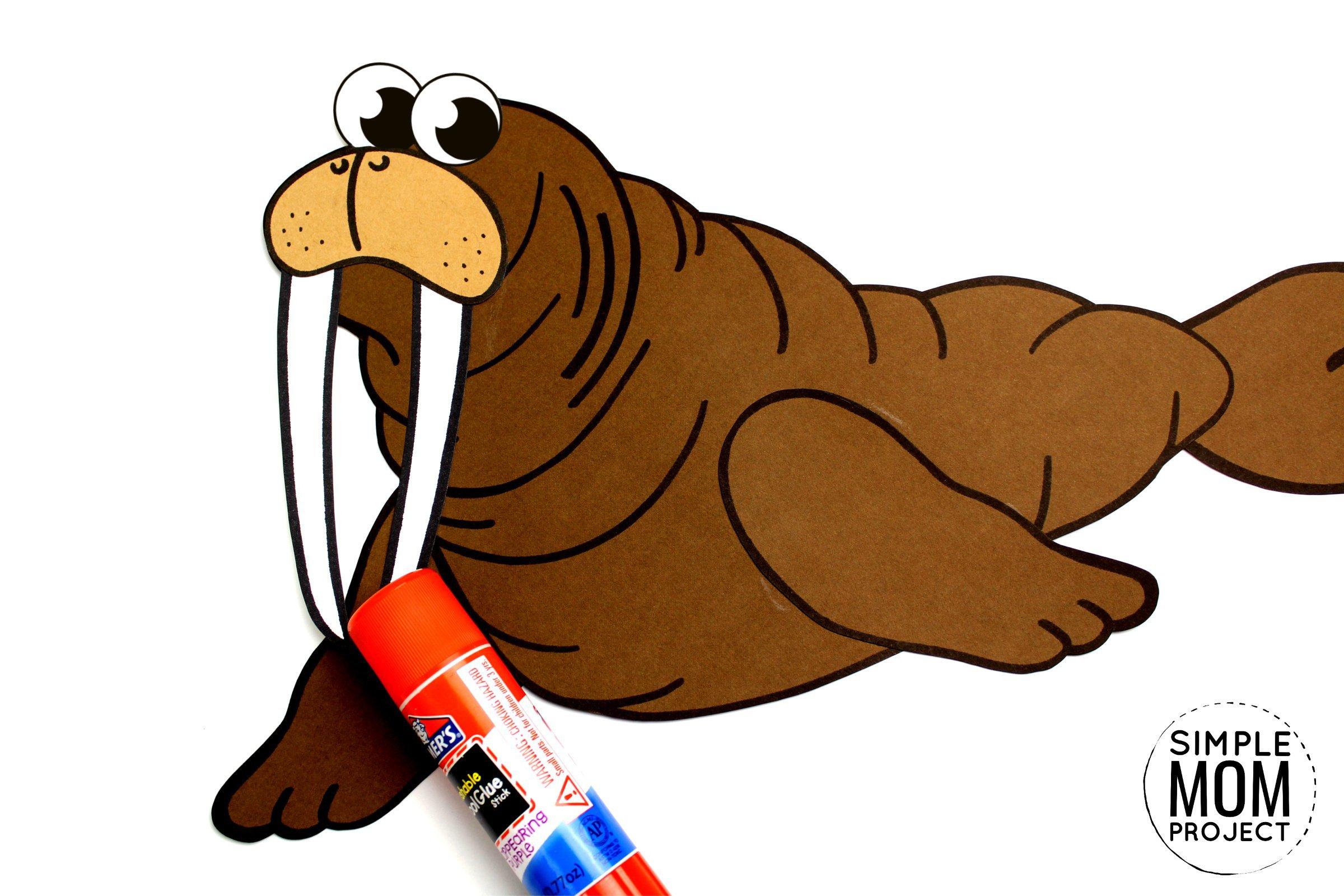 Free Printable Walrus Craft For Kids