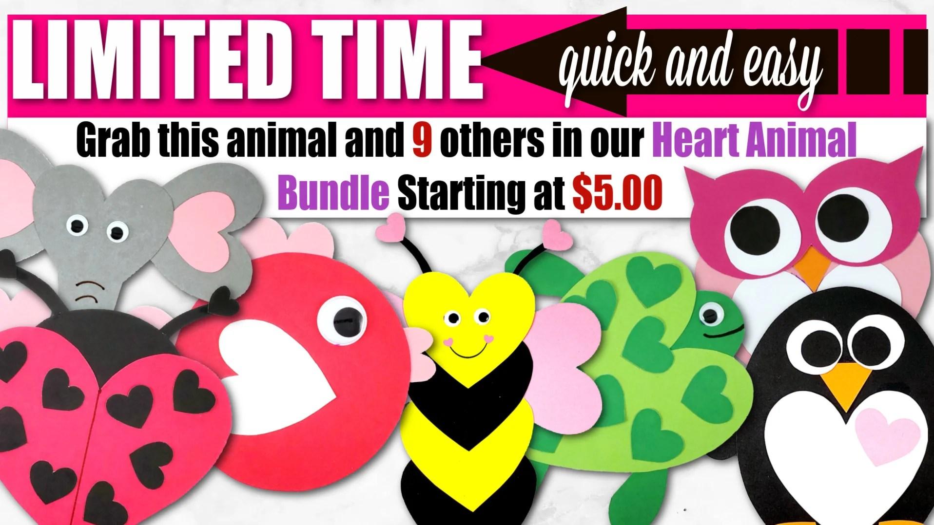 Paint a rock to look like a ladybug: Free Printable Heart Shaped Ladybug Craft Simple Mom Project