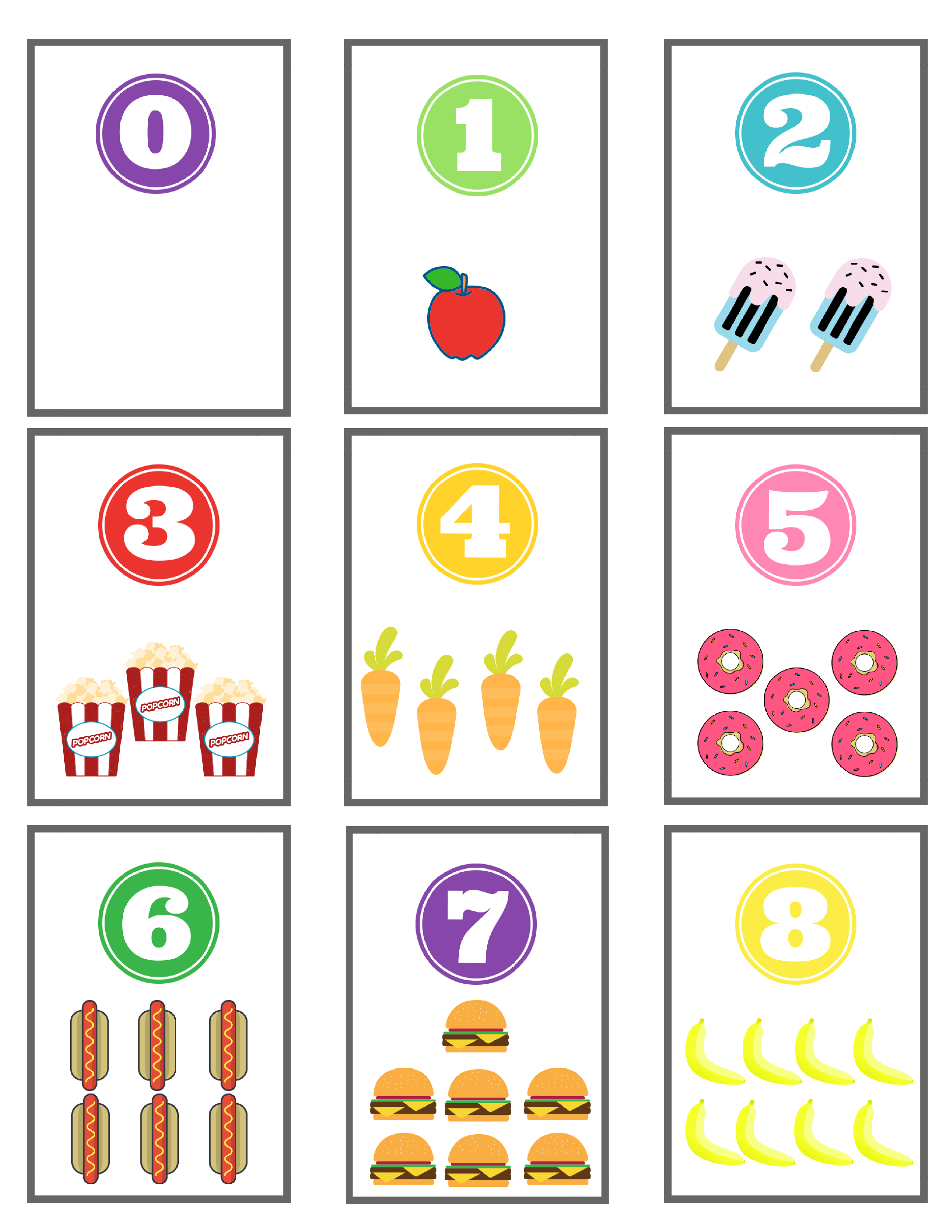 graphic regarding Free Printable Abc Flash Cards identify Selection Flashcards: Cost-free Printable - Basic Mother Analyze