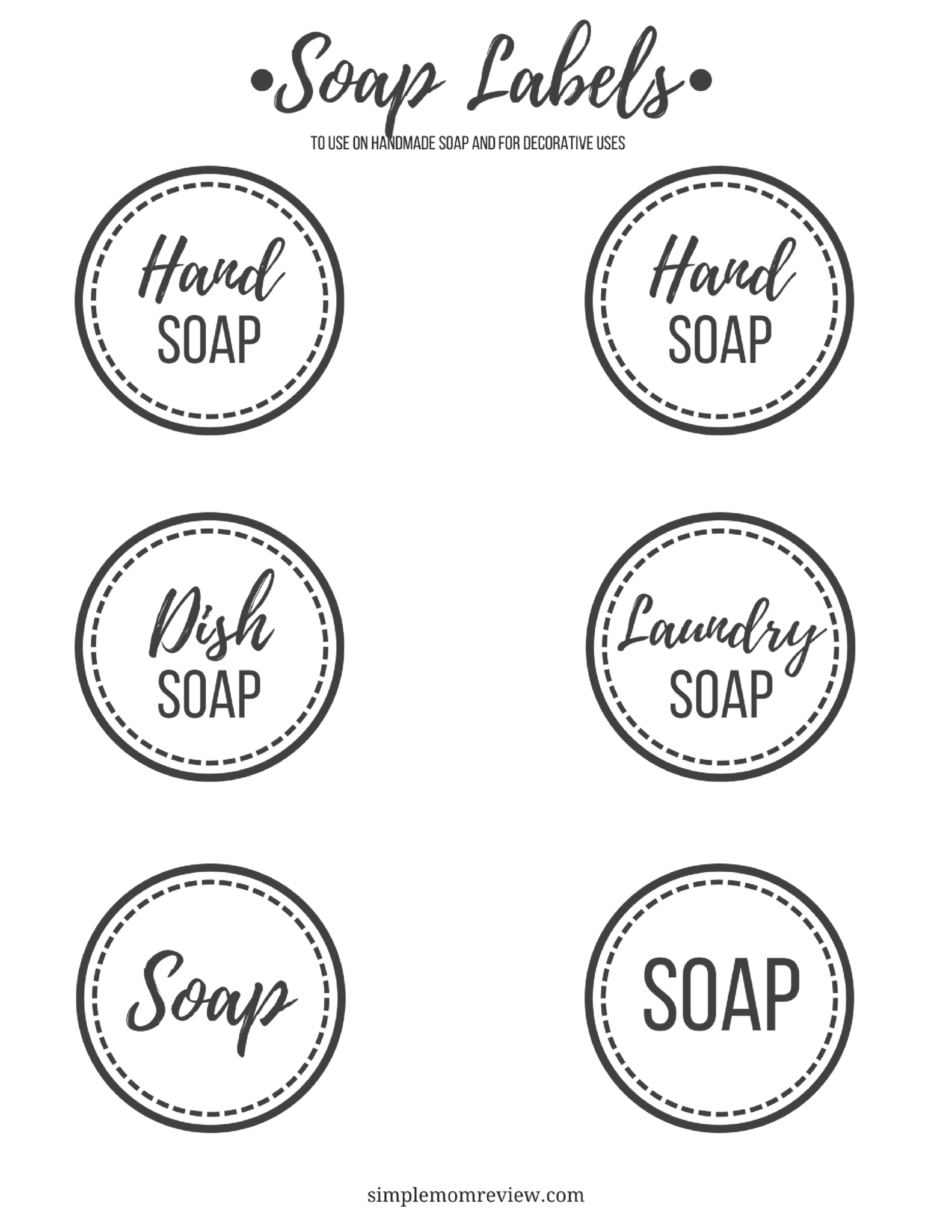 Soap Tags Free Printable 1 Simple Mom Review