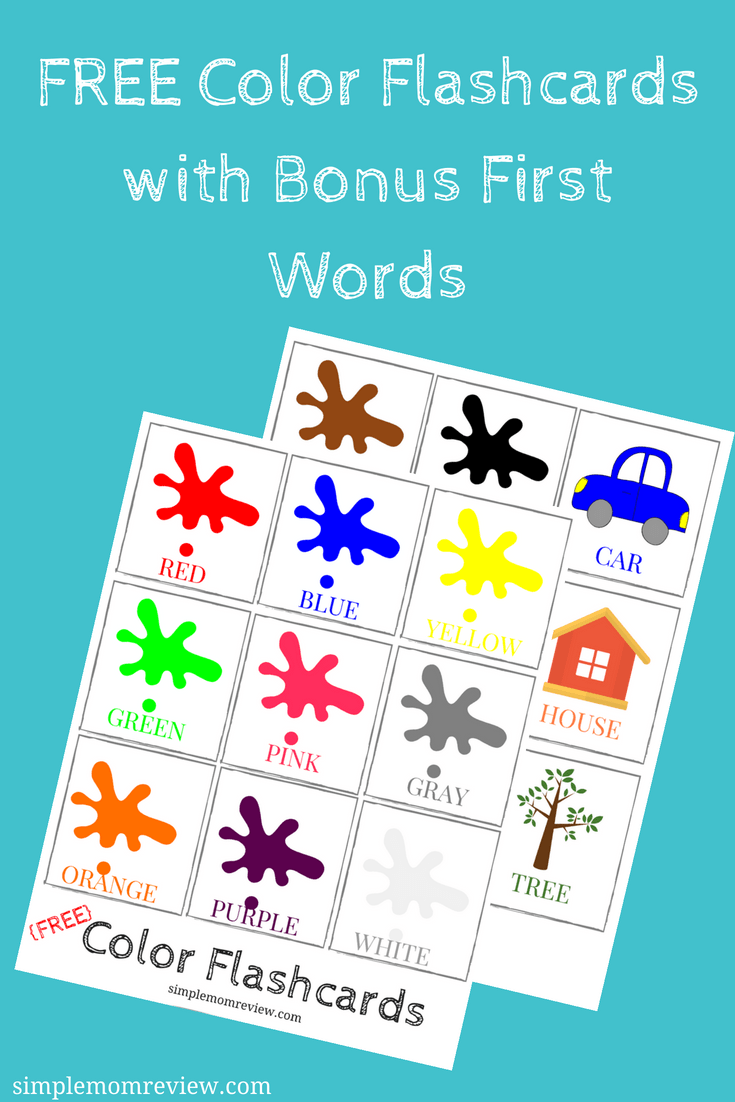 It's just a photo of Modest Free Printable Flashcards