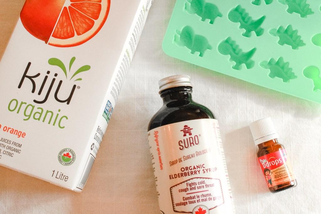 Ingredients for Immune System Boosting Elderberry Gummies