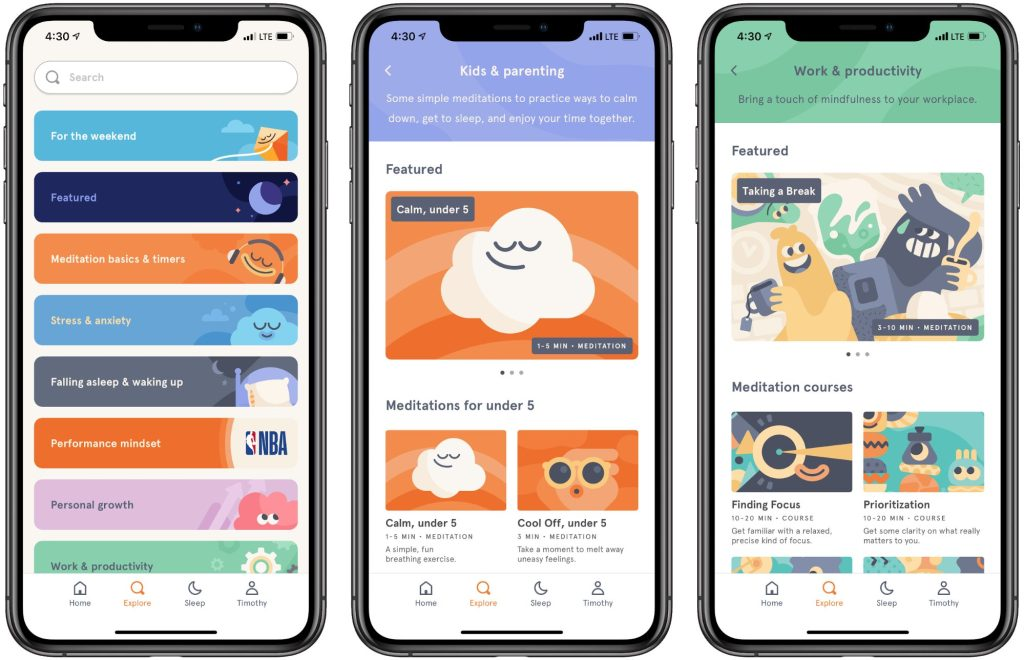 headspace app for women