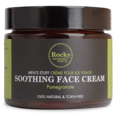 Rocky Mountain Soap Company Men's Stuff Soothing Face Cream