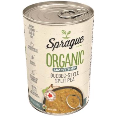 Sprague Organic Simply Soup Split Pea