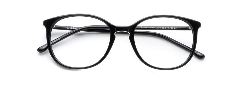 Eyeglasses Frames for Women Derek Cardigan Dynasty 52 Black Onyx Clearly.ca