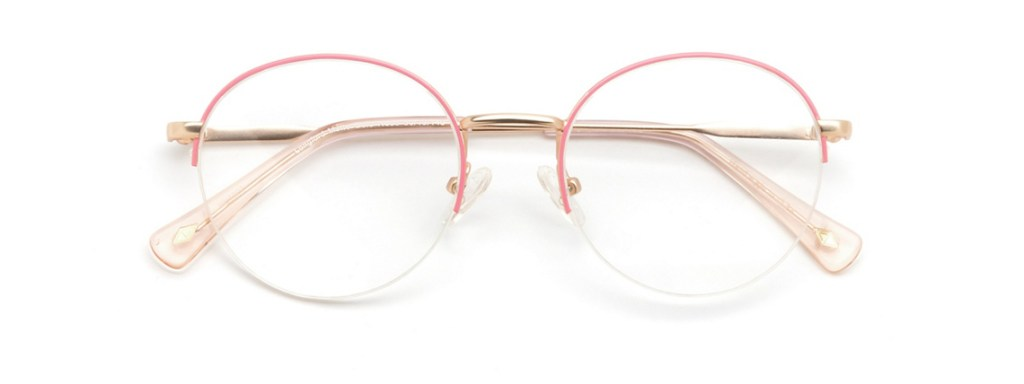 Eyeglasses Frames for Women Main and Central Longford Gold Nude Clearly.ca