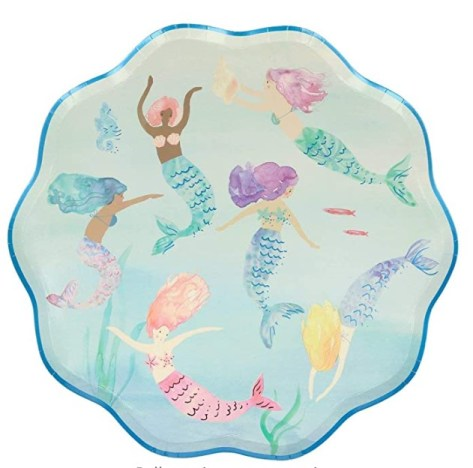 Meri Meri Mermaids Swimming Plates