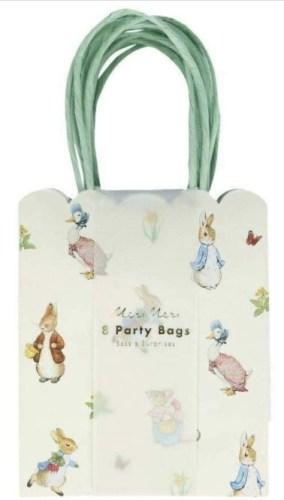 Meri Meri Peter Rabbit and Friends Gift Bags