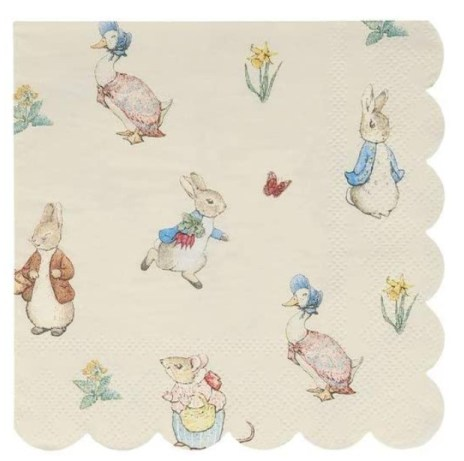 Meri Meri Peter Rabbit and Friends Napkins