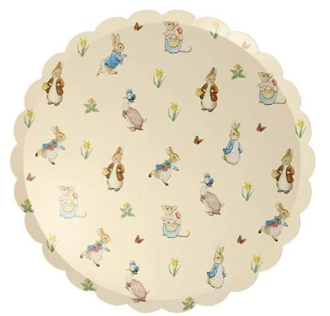 Meri Meri Peter Rabbit and Friends Plates