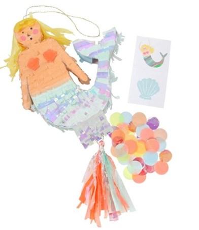 Meri Meri Small Mermaid Pinatas