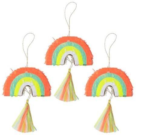 Meri Meri Small Rainbow Pinatas
