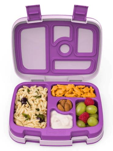 Bentgo Kids Durable and Leak Proof Children's Lunch Box Purple