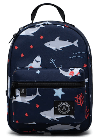 Rodeo Recycled Lunch Bag Sharks