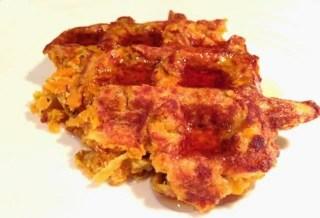 sweet potato, waffle recipe, yam, paleo, gluten free, dairy free, healthy, fit fam