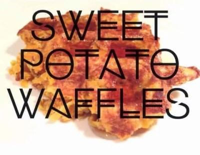 sweet potato, yam, waffles, paleo, dairy free, gluten free, healthy meals, protein