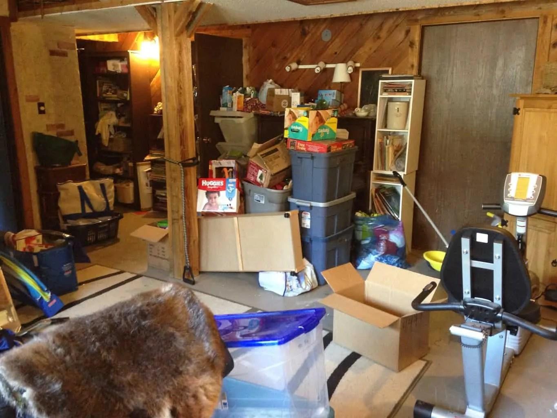 Simpler Home Update: Basement Shame
