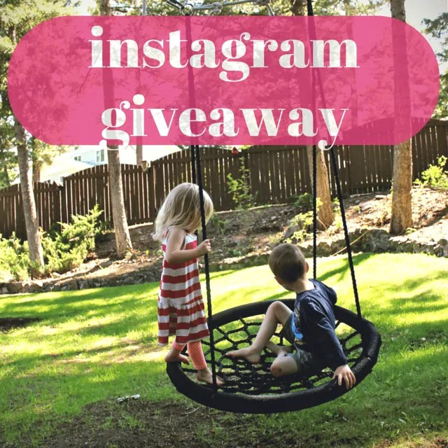 Win a Free Swing & Spin (Instagram Giveaway)