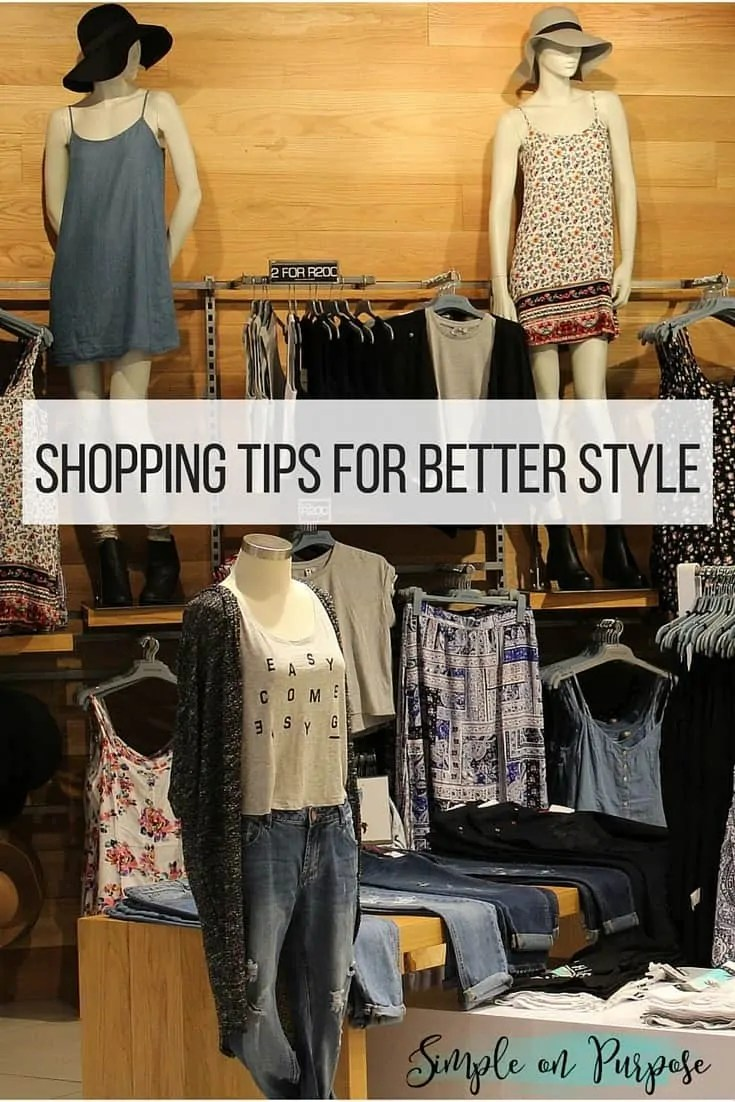 When I Stopped Clothes Shopping {Tips for Moms}