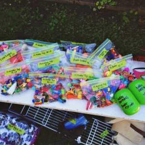 garage sale old toys