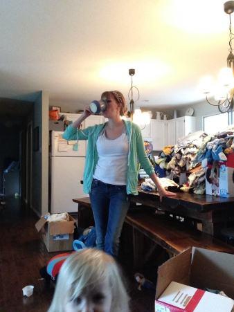 settling in motherhood
