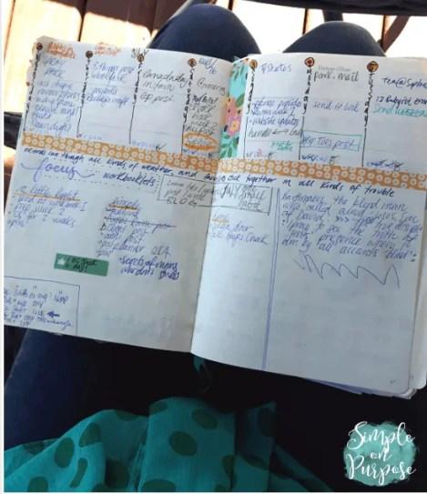 easy bullet journal for busy moms