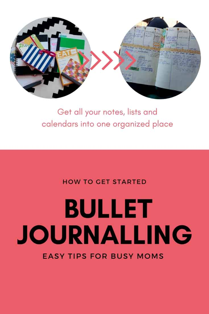 How to Get Started Bullet Journalling (easy tips for busy moms)