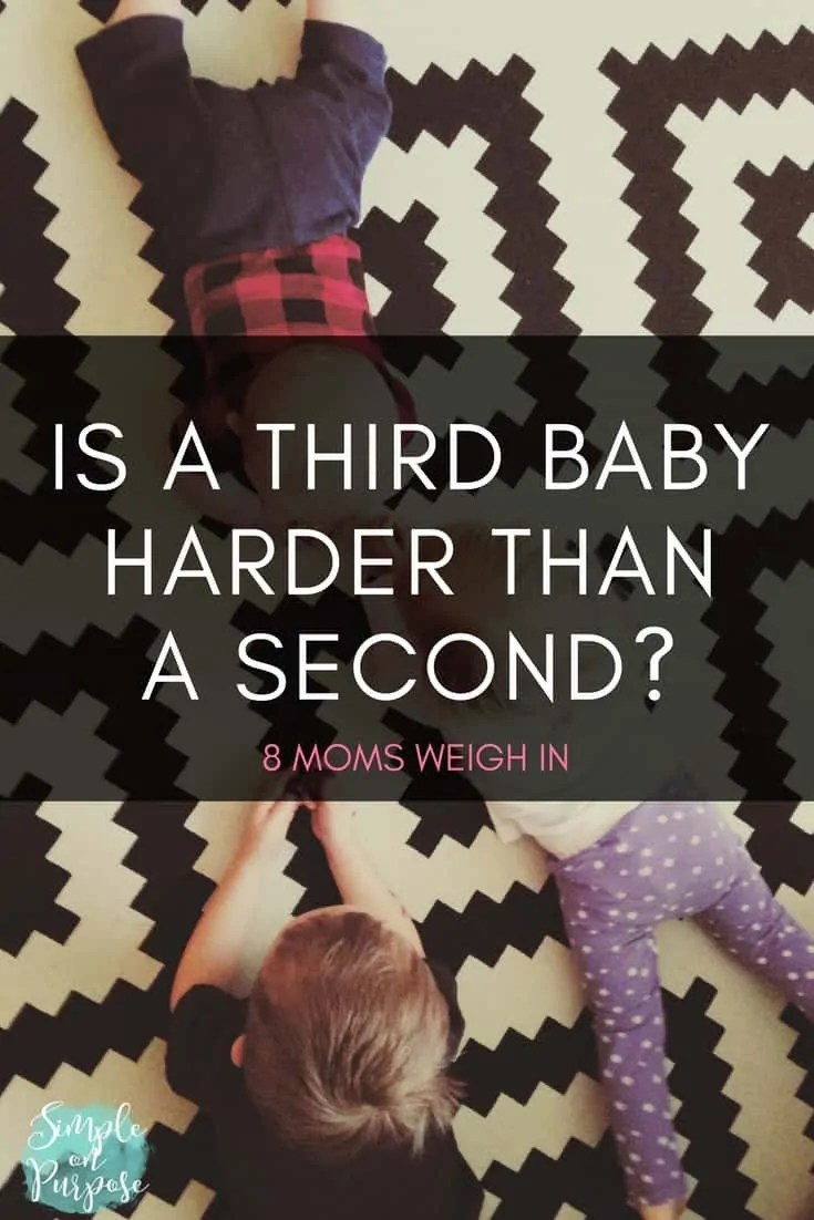 Is A Third Baby Harder Than The Second?