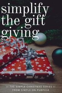 how to manage gift giving