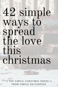 acts of kindness at christmas