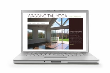 Wagging Tail Yoga Website