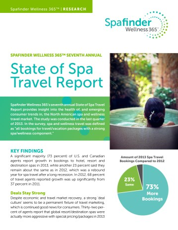 State of Spa Travel Report