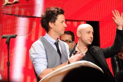 New HQ pictures of Simple Plan receiving the Allan Slaight Humanitarian Spirit Award 1
