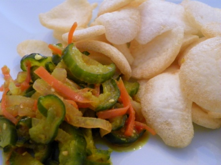 Acar Timun (Spicy Pickled Cucumber)
