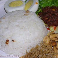 Nasi Lemak (Coconut Rice)
