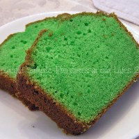 Pandan Pound Cake